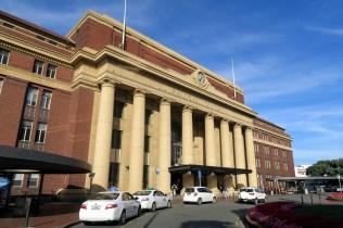 La gare ferrovière de Wellington