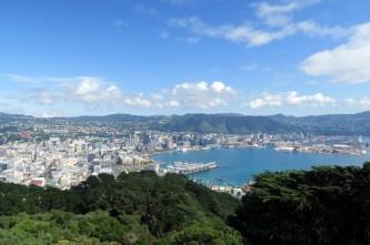 Vue sur Wellington depuis le Mont Victoria