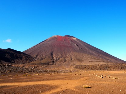 Le Mont Ngauruhoe... ou les fans de Lord of The Rings, le Mount Doom !