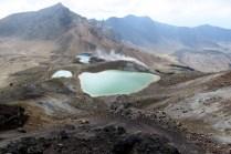 Les Emerald Lakes (Tongariro Alpine Crossing)