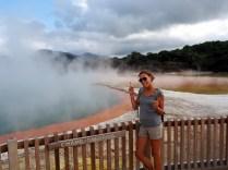 Champagne pool, parc thermal de Wai-o-tapu