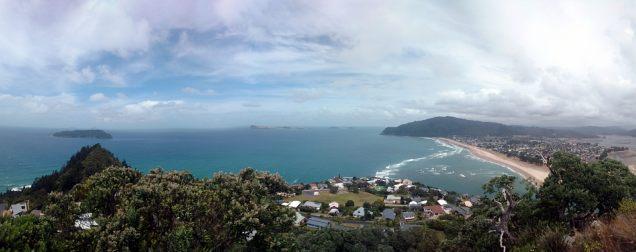 Point de vue à Tairua