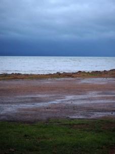 """Dernier """"free camping"""" sur la côte de la péninsule de Coromandel, avant d'aller rendre le campervan à Auckland"""