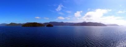 Dans les Fjords de Marlborough Sounds