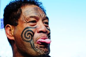 Maori Man, by Graham Crumb (Attribution-ShareAlike 3.0 Unported)