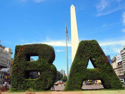 L'obelisque de la place de la république, Buenos Aires