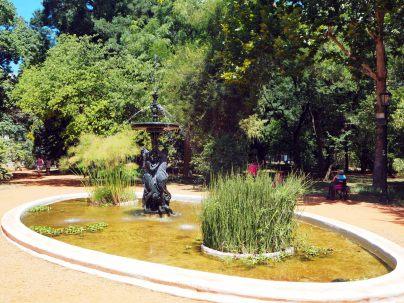 Au jardin botanique de Buenos Aires