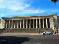 La façade de la faculté de droit, Buenos Aires