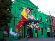 Centre culturel de Recoleta, un des quartiers de Buenos Aires