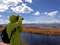 """Julien dans la réserve écologique municipale au bord du lac """"Argentine"""" (Lago Argentino)"""