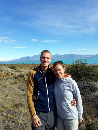 Photo sur la route vers le Perito Moreno