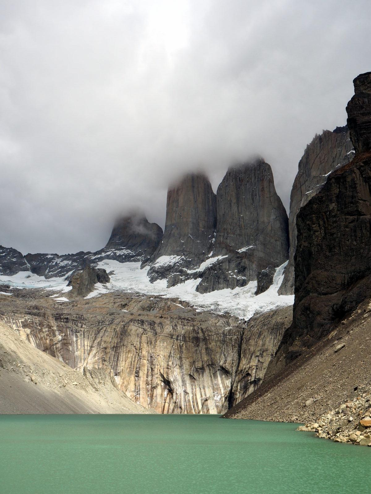 La base des Torres ! Parc National Torres Del Paine
