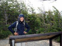 Au Lac Grey, Parc National Torres Del Paine, de la pluie et du vent...