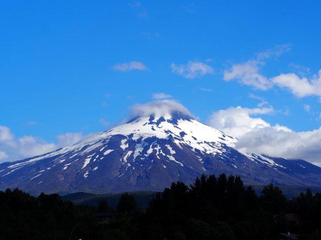 Le volcan Villarrica à Pucon, Chili