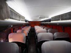 """L'intérieur de notre bus """"Cama"""", super-confort !"""