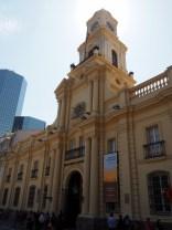 Palacio de la Real Audencia sur la Plaza de Armas, Santiago