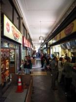La rue des completo proche de la Plaza de Armas