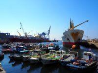 Le port de Valparaiso