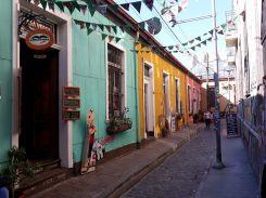 Maisons à Valparaiso