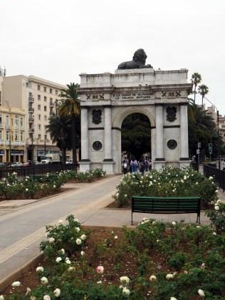 Arc de triomphe à Valparaiso