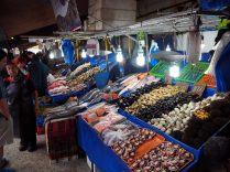 Etals au port de pêche de Valparaiso