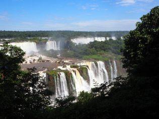 Les chutes d'Iguazu (vue coté Brésilien)