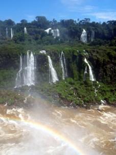 Les chutes d'Iguazu (coté Brésilien)