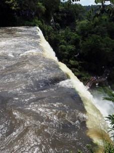 Au dessus du salto Bossetti, chutes d'Iguazu, coté Argentin
