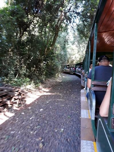Dans le petit train...