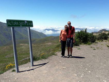 Col de Piedra del Molino, 3457 m
