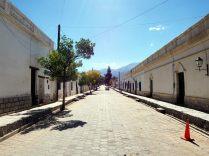 Les rues peu peuplées de Cachi