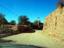 Sur la route entre Cachi et Cafayate, de la piste, de la poussière, mais avec le soleil !