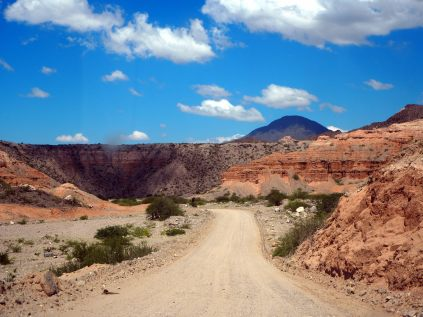 Sur la route entre Molinos et Cafayate