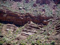 El Fraile, un rocher qui ressemble vaguement à un moine, Quebrada de Las Conchas