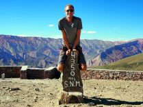 A El Hornocal, la montagne aux 14 couleurs, 4350m et tout va bien !