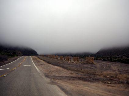 Sur la route vers le Salinas Grande... sous les nuages !