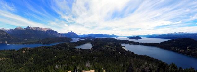 Panorama depuis le Cerro Campanario