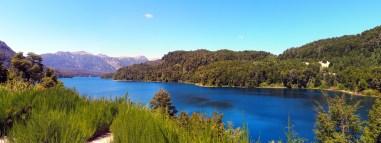 Panorama sur le Lago Correntoso