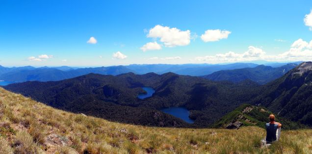 Panorama depuis le Cerro San Sebastian