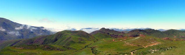 Panorama depuis le Col de Piedra del Molino