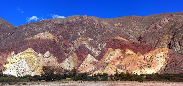 Panorama de la Palette du Peintre à Maimara