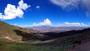 Panorama de la route vers El Hornocal ou la montagne aux 14 couleurs