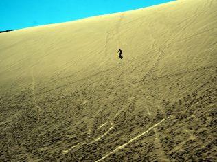 Sandboard à la Vallée de la Mort
