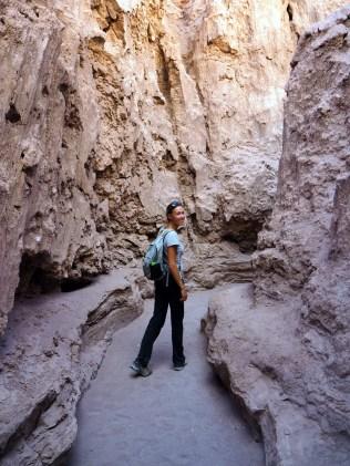 Vallée de la Lune, « Las Cuevas de Sal » (ou les grottes de sel en français). C'est parti pour la spéléologie !