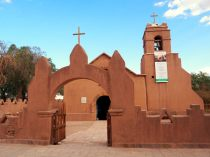 L'église de San Pedro de Atacama