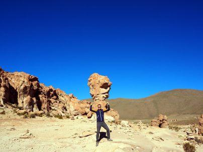 """Le rocher """"copa del mundo"""" !"""