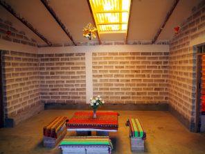 A l'intérieur d'un hotel de sel, Colchani, près d'Uyuni