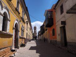 Dans les rues de Potosi