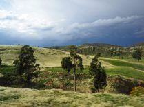 Sur la route vers Sucre