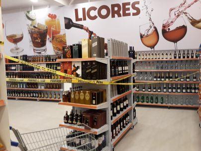 WE de Pâques, la vente d'alcool n'est pas tolérée...